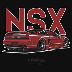 Acura / Honda NSX (red)