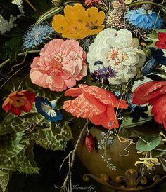 Шедевр в деталях   Абрахам Миньон (Abraham Mignon, 1640–1679, German-Dutch)…