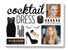 """""""Cocktails at sunset"""" by amanda2002-608 ❤ liked on Polyvore featuring Mason by Michelle Mason, Bobbi Brown Cosmetics, GUESS, Casadei, H&M, Topshop and Forever 21"""