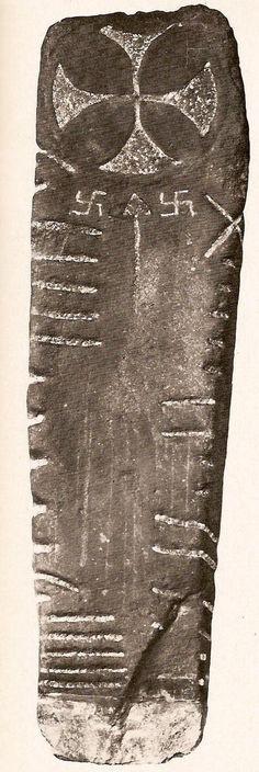 Celtic Priest Stone Monument Ireland 4th century AD