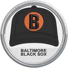 Baltimore Black Sox cap hat logo - uniform - sports logo - Negro League -  Minor League Baseball - MiLB Created by Jackson Cage 45f780ec894d