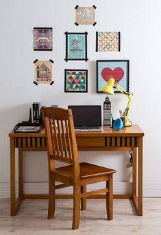 Fita isolante: da caixa de ferramentas direto para a sua decoração