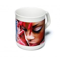 Printed Mugs - We can offer prices to suit your budget on all our custom printed ceramic mugs with so many colours to choose from our range. Plastic Glass, Ceramic Mugs, Photo Mugs, Ceramics, Tableware, Prints, Budget, Ceramica, Pottery Mugs