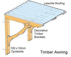Build A Decorative Timber Awning
