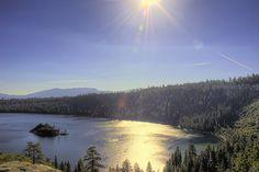 Emerald Bay, Tahoe / http://www.sleeptahoe.com/emerald-bay-tahoe-2/