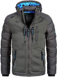 Geographical Norway Warm Lined Men/'s Polo Winter Jacket S-XXXL