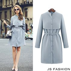 18 Best Style to Consider When Buying Women's Trench Coats Fashion Mode, Modest Fashion, Hijab Fashion, Fashion Dresses, Womens Fashion, Fashion News, Mode Bcbg, Iranian Women Fashion, Winter Chic