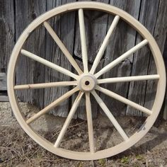 My dad loves western movies and just that era in general.  I have been looking into getting him something related to that for his birthday.  I think that he will really like to have a wooden wagon wheel for the basement.  He has decorated the whole basement like a saloon, and I think that this will fit in perfectly.