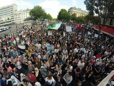 Paris with the people of #Gaza #FreePalestine #SolidarityWithGaza