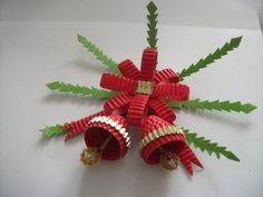 Homemade Christmas Decoration Bells Tutorial