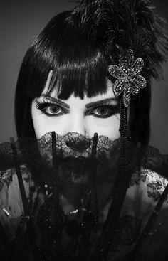 https://flic.kr/p/GZ4KDR | Pandora's box | Photo by SteveO Model/MUA/Stylist Azadeh Brown #azadeh #azadehbrown #goth #gothmodel #alternative #alternativemodel #gothfashion #gothic #darkphotography #burlesque #elegant #model #modelling #vogue #persianmodel #persian #beauty #makeup #darkbeauty #vintage #eyes #fashion #femmefatale #doll #black #blacklace #pin up #1920s #1930s #artdeco #artnova #greatgatsby #cabaret #showgirl #hollywood #silentmovie #silverscreen #boudoir #louisebrooks #flapper