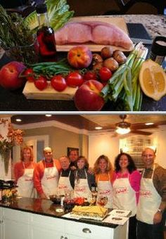 This personal chef business offers off-site cooking classes and full-service catering with fresh and restaurant-quality prepared foods. They provide services for families and professionals on the go.