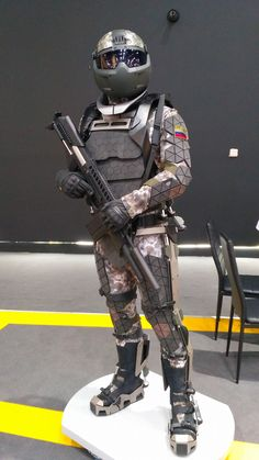. Combat Suit, Combat Helmet, Sci Fi Armor, Sci Fi Weapons, Military Armor, Military Gear, Neo Japan 2202, Halo Funny, Animal Sleeve Tattoo