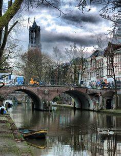 Atenção p o que está escrito no barquinho. Utrecht - Netherlands (von woto)
