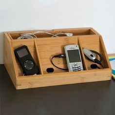 Charging Station - Got one recently and it proved useful.  Not this model but similar.