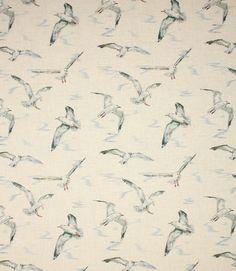 Seagulls Fabric / Linen