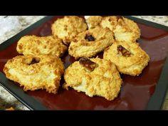 Cómo hacer Galletas de Queso Crujiente - YouTube Galletas Keto, Doughnut, Chocolate, Muffin, Low Carb, Cookies, Breakfast, Desserts, Food