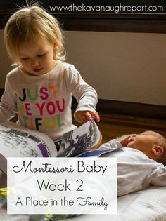 Montessori baby, integrating a new baby into a family