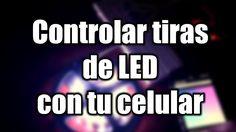Controlar tiras de LED RGB con tu celular | Arduino | Android