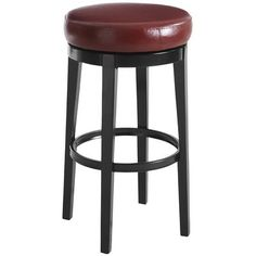 Stratmoor Swivel Barstool - Red. Pier one. Comes in a great teal color, and camel, too. $129.00 swivels!!!