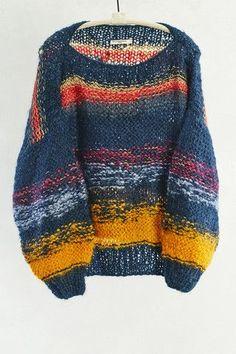 Dark Rainbow Shy Pullover by Mes Demoiselles | shopheist.com