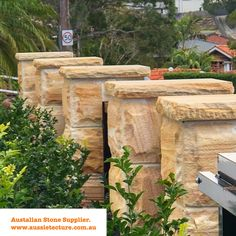 Aussietecture natural stone supplier has a unique range natural stone products for walling, flooring & landscaping. Sandstone Cladding, Natural Stone Cladding, Sandstone Wall, Sandstone Paving, Natural Stone Wall, Natural Stones, Stone Supplier, Wall Cladding, Exterior Design