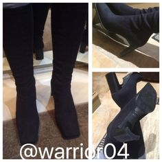 HP 1/27/16Enzo Angioloni Black Boots Enzo Angioloni Boots, pull up, no zipper, synthetic upper man made sole, man made lining made in Brazil Karida Via Spiga Shoes Heeled Boots