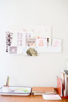 Katie Hart's San Diego Home Tour - The Everygirl Workspace Inspiration, Interior Inspiration, Room Inspiration, Design Inspiration, Feminine Office, Office Decor, Office Inspo, San Diego Houses, Dream Apartment