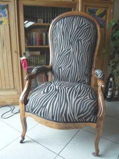 Ils ont eux-même restaurer ou tapisser leur fauteuil ou siège                                                                                                                                                                                 Plus