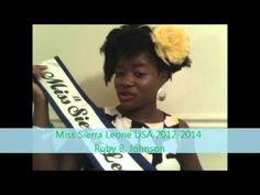 Salone Tag by Miss Sierra Leone USA Ruby B. Johnson (in english)
