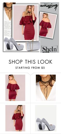 """SheIn 4"" by melissa995 ❤ liked on Polyvore"