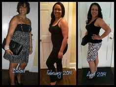 "Order your Skinny Fiber- http://kyslims.EatLessFeelFull.com/?SOURCE=ELFF  WOW! Kinyatta looks STUNNING!!  Hello All! Here's my update. I have completed my 1st 90 Day Challenge, and I intend to complete a second 90 Day Challenge. I'll tell you right now, I didn't do any measuring or weighing - so I can't tell you about inches or number of pounds lost. What I can tell you is I was wearing a 12/13 in the ""before"" picture and now I wear a size 8/10. I wear ""mediums"" instead of large/extra large…"