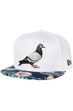 Staple Hat The Talum Pigeon New Era in White Fashion Sale, Urban Fashion, Dope Hats, Snap Backs, Pigeon, Don't Worry, Streetwear Fashion, Beanie, Style Inspiration