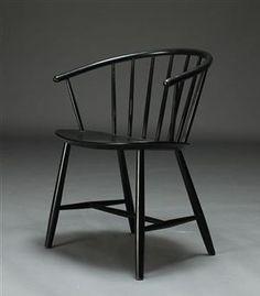 Chair Model J 39 for FDB  #Denmark