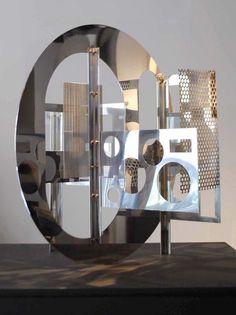 Sculpture « Lux 11 »1960.Nicolas Schöffer (1912 - 1992)