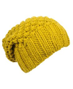 Crochet Knitted Beanie