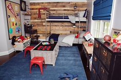 Project Nursery - Industrial-Vintage Boy's Room featuring RH Baby & Child Furniture