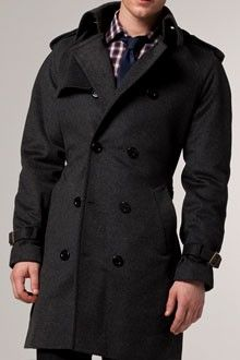 Outerwear is important for protecting suits and looking good.