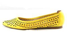 Sapatilha Laser Amarela Emporio dos Sapatos