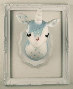 Unicorn Stuffed Taxidermy