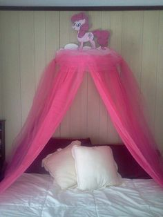 Hey, I found this really awesome Etsy listing at https://www.etsy.com/listing/181803741/my-little-pink-pony-canopy-for-childrens