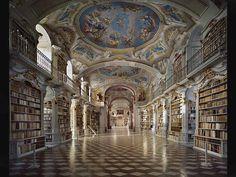 Bibliothèque de l'Abbaye de Saint-Florian, Autriche II. ©Ahmet Ertug.jpg