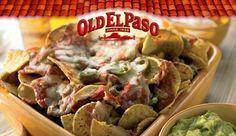 Mexicali savoury nachos.