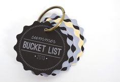 summer bucket list idea using a Silhouette - a fun gift for kids on first day of summer vacation!