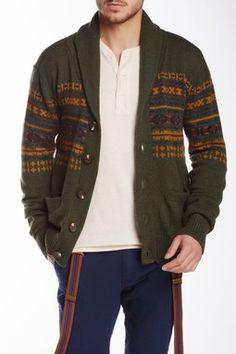 Wool Blend Caridgan