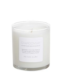A Beautiful Candle…That Smells Like Wine #chardonnay #parfum #candle #winecandle