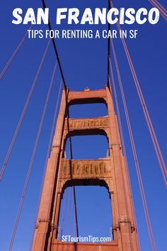 Discover tips to rent a car in San Francisco. Find the best spots to pick up your rental car and other things you need to know before you pick up your rental. Things To Do, Good Things, San Francisco Travel, Car Rental, Car Ins, Tips, Fun, Things To Make, Hilarious