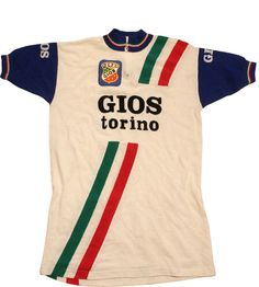 8a937169d 70 s vintage deadstock GIOS Castelli torino cycle jersey made in Italy