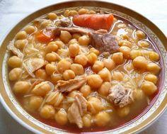 Cocido tradicional (olla express)