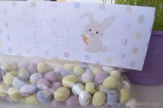 {printable} easter treat bag toppers